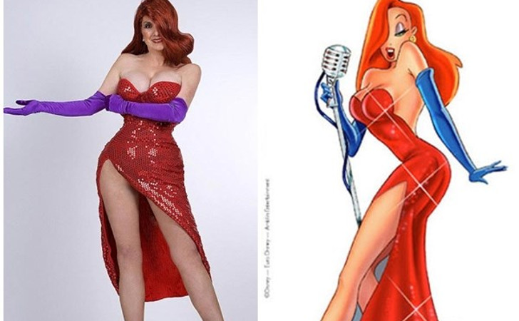 annette edwards and jessica rabbit