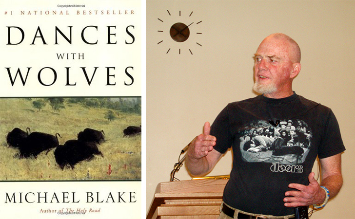 "dances with wolves by michael blake Michael blake won a 1991 screenwriting oscar for kevin costner's film ""dances with wolves,"" which became the first western to win a best picture academy award since ""cimarron"" in 1931."