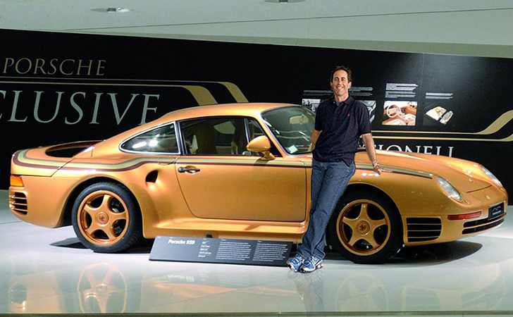 Jerry Seinfeld Car Collection >> These Celebs Have The Most Insane Sports Cars Page 19 Of