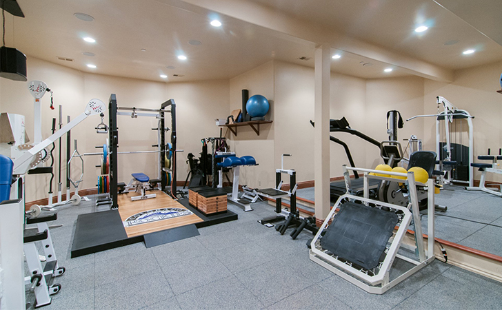 The best innovative and pro athlete gyms page of