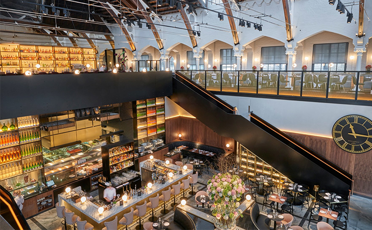 This london restaurant might be the most gorgeous in