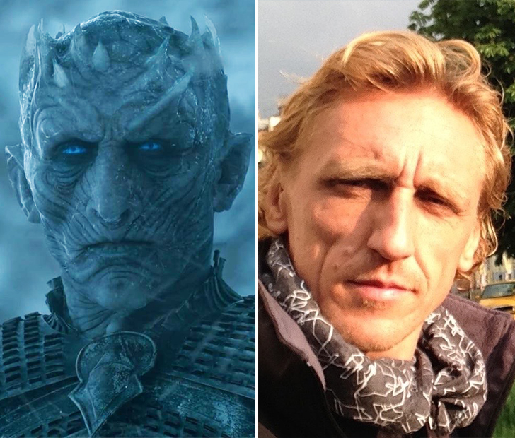 Game Of Thrones Vladimír Furdík On Playing The Night King: Game Of Thrones Actors Look Extremely Different In Real